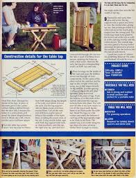 Folding Picnic Table Plans Build by The 25 Best Folding Picnic Table Plans Ideas On Pinterest