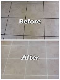 Saltillo Tile Cleaning Los Angeles by Grout Cleaning Before U0026 After Images Seal Systems