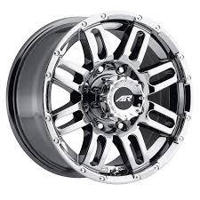 100 17 Truck Wheels American Racing AR901 Chrome SplitSpoke MultiSpoke
