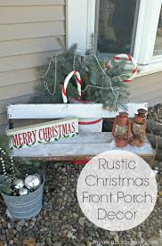 Rustic Outdoor Christmas Decor