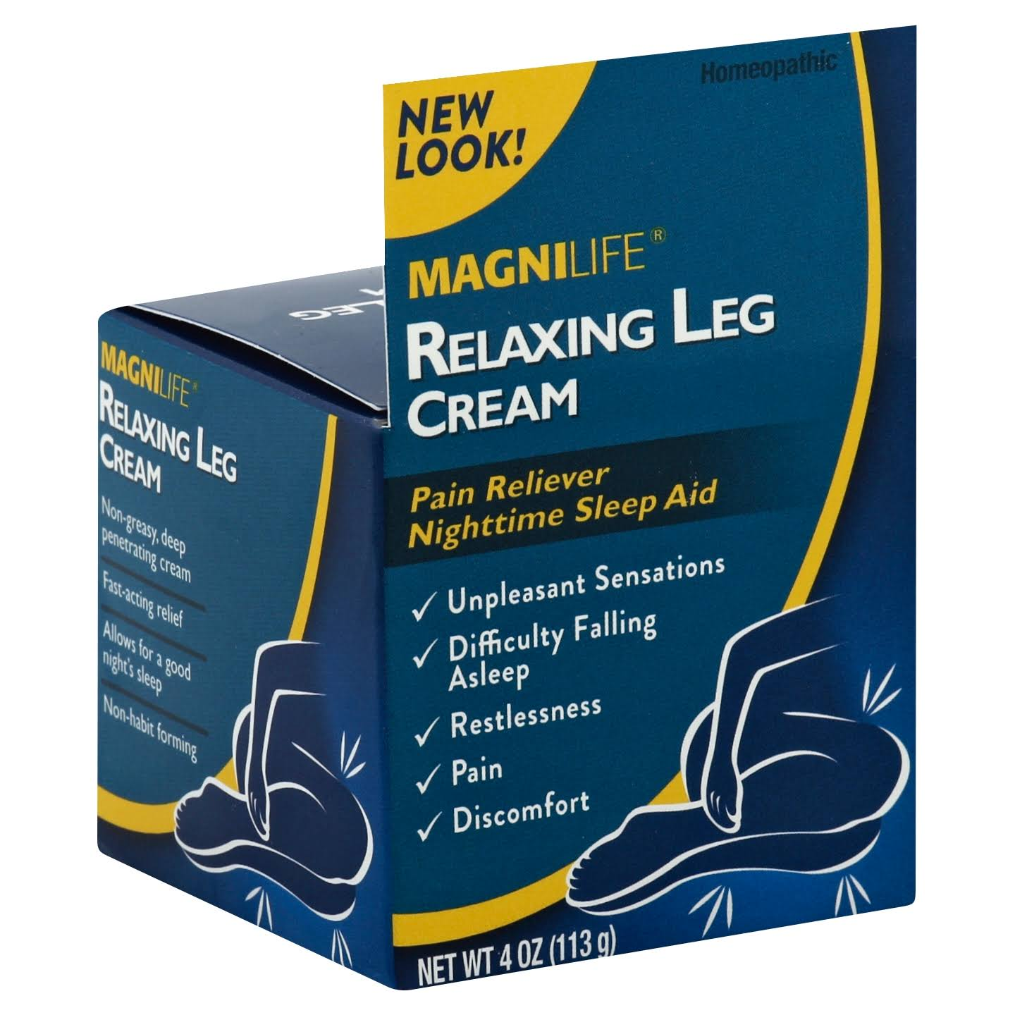 Magni Life Relaxing Leg Pain Calming Relief Cream - 4oz