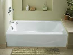 k 715 villager 60 x 30 1 4 alcove commercial bath with left