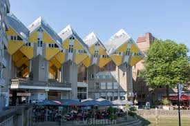 100 Cubic House Rotterdam Netherlands July 03 2018 Houses In The Center