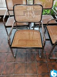 esszimmerstühle wippstühle stahlrohr und holz sypad