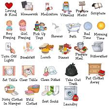 Clear table clipart