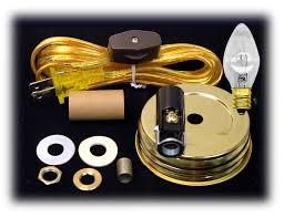 Lamp Wiring Kit For Table Lamp by Mason Jar Lid Lighting Kits For Inside Of Jars National Artcraft