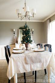 Dining Room Christmas Decorating 2014 A Delightful Holiday Tour See How Mrs