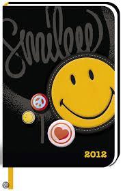 smiley bureau bol com bureau agenda smiley yellow 5410574290038 boeken