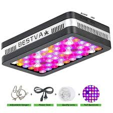 Amazoncom BESTVA Reflector Series 600W LED Grow Light Full