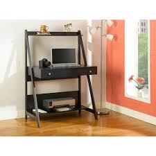 Bush Desk Series C by Alamosa Ladder Laptop Desk Classic Black Hayneedle