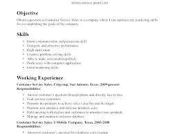 Sample Resume Showing Computer Skills Skill Samples An Example Of A Good Communication Resum