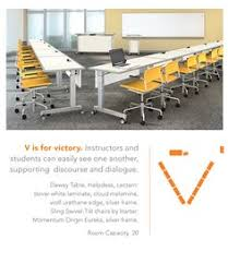 flexible classroom tables Fixtures Furniture Dewey