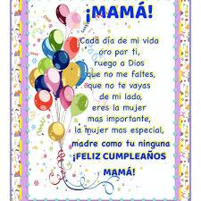 Carta A Mamá En Su Cumpleaños TheTremendingTopic
