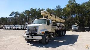 Sold Used National 1400H Boom Truck Crane For In Houston Texas On ...