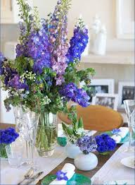 Floral Arrangements In Glass Vases Colorful And Table Centerpieces