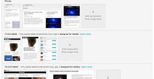 Google Play updated for Tablet sized screenshots SlashGear