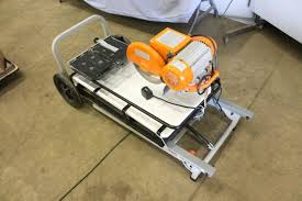 Chicago Electric Tile Saw 7 by 2 5 Hp Tile Saw Silt Tool Rental