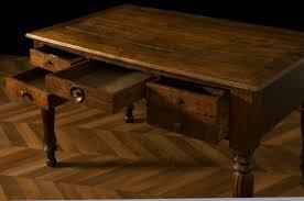 les de bureau anciennes bureau ancie fin xixeme bureau de travail meuble ancien authentique