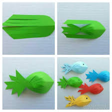 La Pesca Milagrosa Pececitos De Papel Me Gusto Follow Instructions