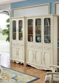 details zu barock stil möbel wohnzimmer büro schrank regal vitrine vitrinen regale neu 901