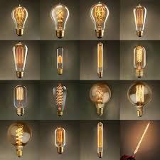 vintage edison bulbs incandescent light bulb l ac 110v 220v e27