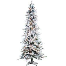 Slim Pre Lit Christmas Tree 75 by 7 5 Ft Slim Pre Lit Christmas Trees Artificial Christmas