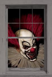 Carnival Scene Setters Halloween by Amazon Com Wowindow Posters Slammy The Scary Clown Halloween
