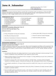 Resume Administrative Assistant Samples Entry Level Objective Examples