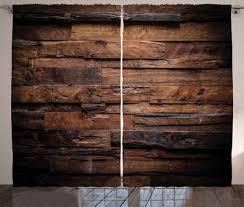gardine schlafzimmer kräuselband vorhang mit schlaufen und haken abakuhaus schokolade raue dunkle holz