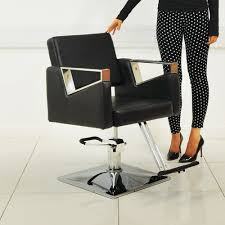 Hair Salon Chairs Suppliers by Swivel Hair Styling Chair Black Beauty4less