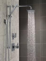Delta Floor Mount Tub Filler Brushed Nickel by Vero Bathroom Collection