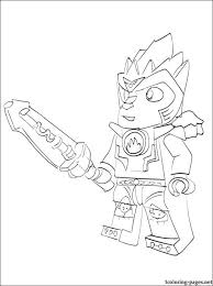 Lego Chima Laval Coloring Page