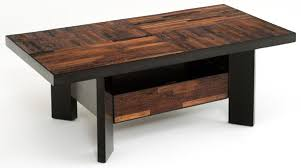 Urban Rustic Coffee Tables Contemporary Salvaged Wood For Modern Table Designs 7