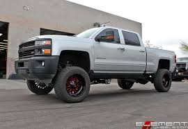 Chevrolet Silverado 2500 Wheels | Custom Rim And Tire Packages