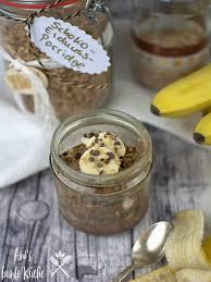 geschenke aus der küche schoko erdnuss porridge to go