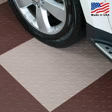 Foam Tile Flooring With Diamond Plate Texture by Garage Flooring Tiles Kmart
