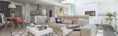 cuisine blanche ouverte sur salon cuisines santos conçues pour devenir le cœur de la maison