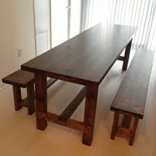 best of kitchen table bench plans and best 25 wooden benches ideas