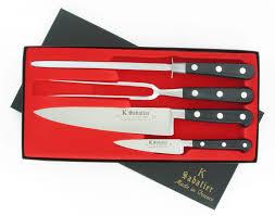 coffret couteaux cuisine couteaux d office manche en olivier