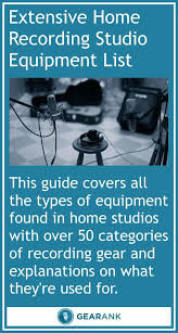 Extensive Home Recording Studio Equipment List A Very Useful Guide For Anyone Looking Ideas