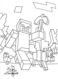Minecraft Creeper Coloring Page Printable Pages Free Mutant