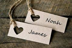 Wedding Place Cards Name Tags By LaPommeEtLaPipe On Etsy