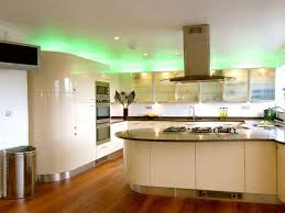 decorations green kitchen lighting ideas with above cabinet led