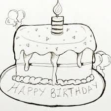 Cake for Michael 🎂🎉 birthday birthdaycake cake doodle illustration