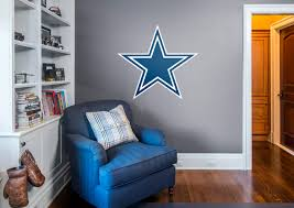 Cheap Dallas Cowboys Room Decor by Dallas Cowboys Logo Wall Decal Shop Fathead For Dallas Cowboys