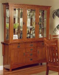 Image Of Heartland Manor Mission Tobacco Cherry Buffet Hutch