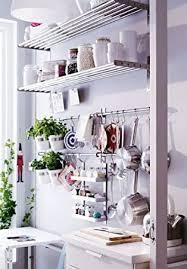 ikea grundtal 58 4 cm schiene 5 haken edelstahl untensil aufhänger topfhalter küche aufbewahrung organizer set