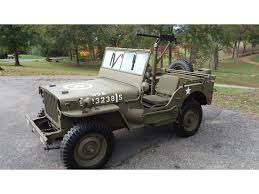 100 Military Truck Auction 1942 Willys Jeep For Sale ClassicCarscom CC1168299