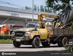 100 Nissan Diesel Truck Chiangmai Thailand September 2018 Private Old Cargo