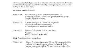 Good Resume Profile Examples Profiles Personal For Resumes Great First Job Writing